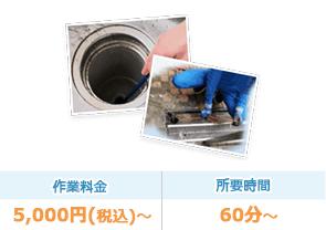 排水管・グリストラップ詰まりの洗浄作業はおまかせ下さい