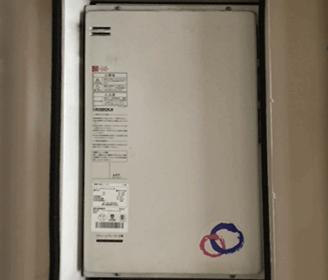 大阪府枚方市の故障した給湯器