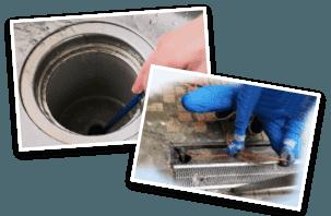 排水管高圧洗浄作業・詰まり除去作業