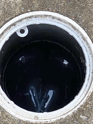 汚水桝・排水管つまり作業後