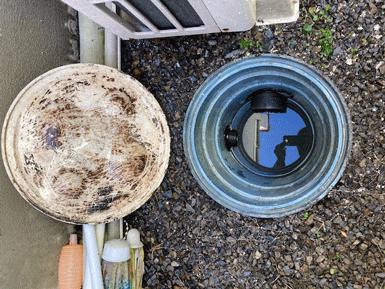 汚水桝洗浄施工後