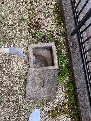 藤井寺市のトイレつまり作業後の様子