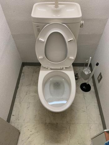 茨木市のトイレつまりの様子