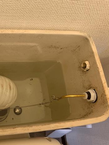 貝塚市のトイレ故障の修理後の様子
