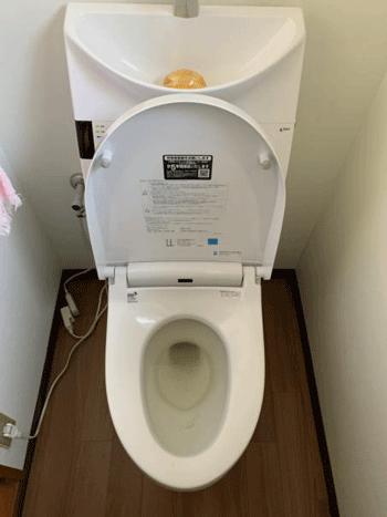 四条畷市のトイレつまりの様子