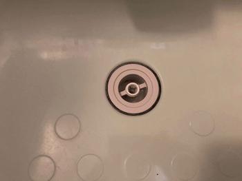 高槻市の浴室排水故障の様子