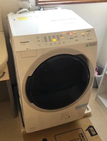 茨木市の洗濯機取り付け後