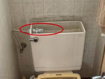 大阪市浪速区の浴室蛇口水漏れ作業後の様子