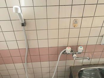 富田林市の台所蛇口水漏れ作業後の様子