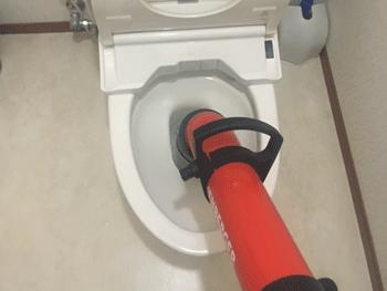 草津市のトイレつまり修理状況