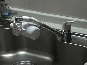 守山市のトイレの故障の様子