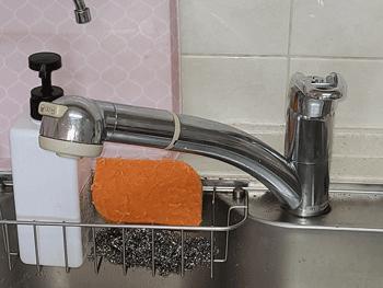八尾市の浴室蛇口水漏れの様子