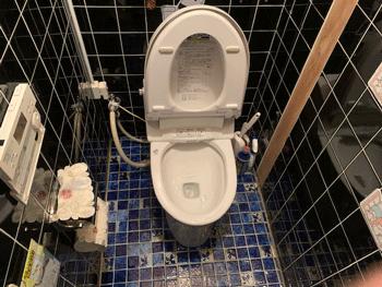 枚方市のトイレつまり解消後の様子
