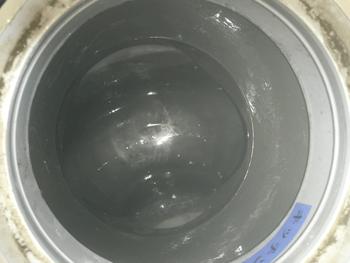 京都市右京区の排水管を綺麗に洗浄した様子